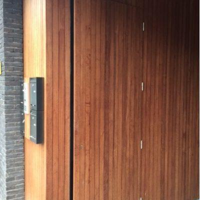 houten deur 22